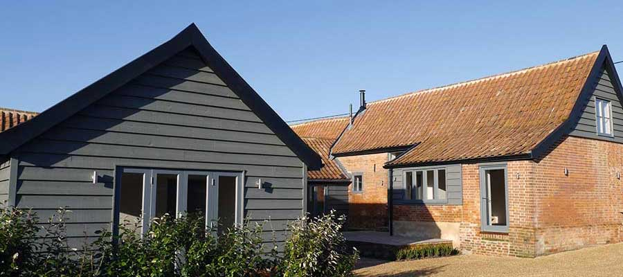 Barn conversions in Suffolk