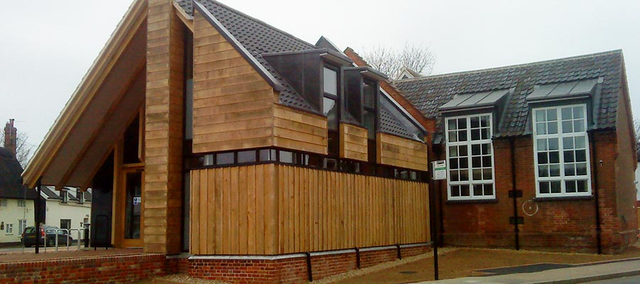 Carpenters for The Pennoyer Centre, Pulham St Mary
